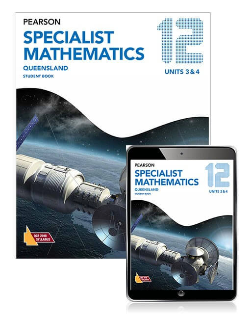 Pearson Specialist Mathematics Queensland 12 Student Book with eBook