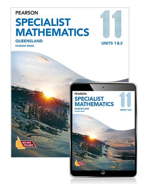 Pearson Specialist Mathematics Queensland 11 Student Book with eBook